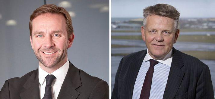 Skúli Mogensen og Björgólfur Jóhannsson segist ekki hafa fundað.