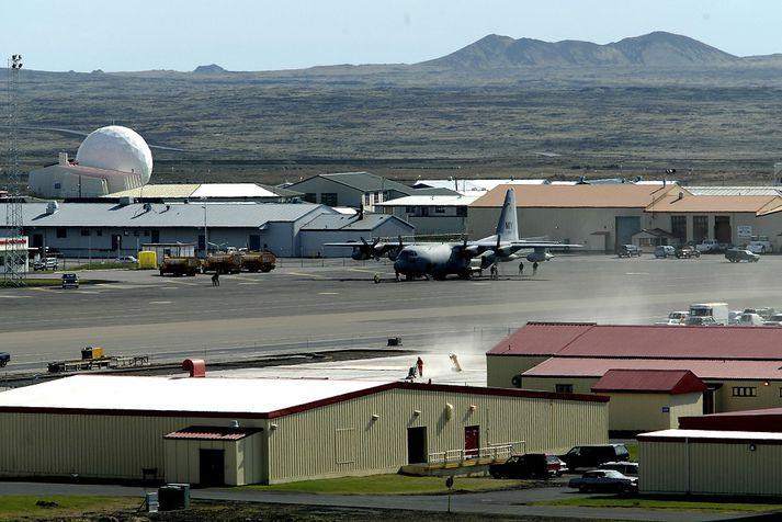 Bandaríkjaher hefur verið að auka umsvíf sín hér á landi.