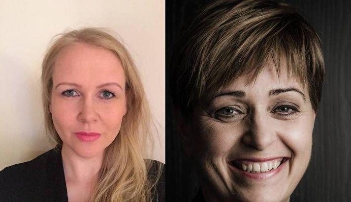 Birna Ágústsdóttir og Sigríður Kristinsdóttir.