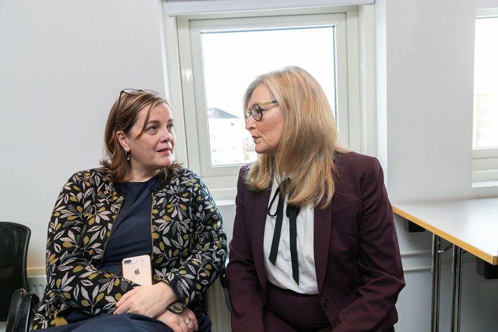 Svandís Svavarsdóttir heilbrigðisráðherra og Alma Möller landlæknir verða á fundinum.