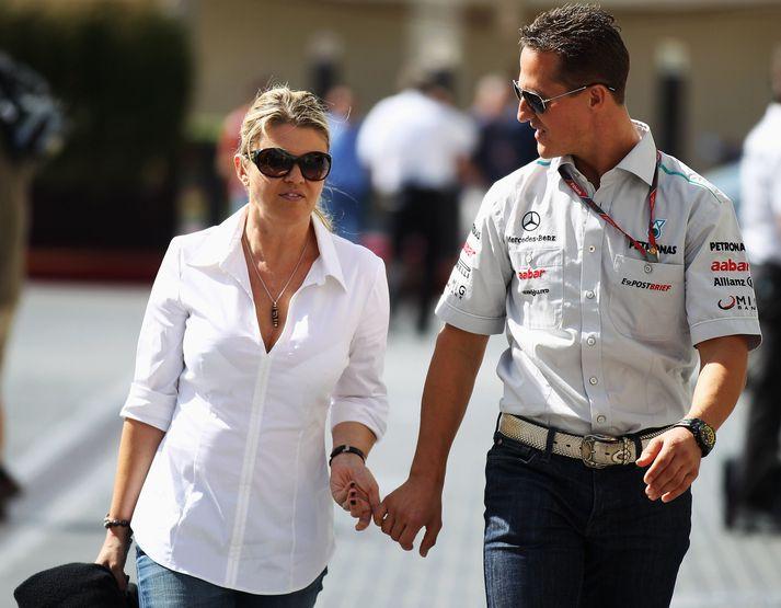 Schumacher-hjónin, Corrina og Michael.