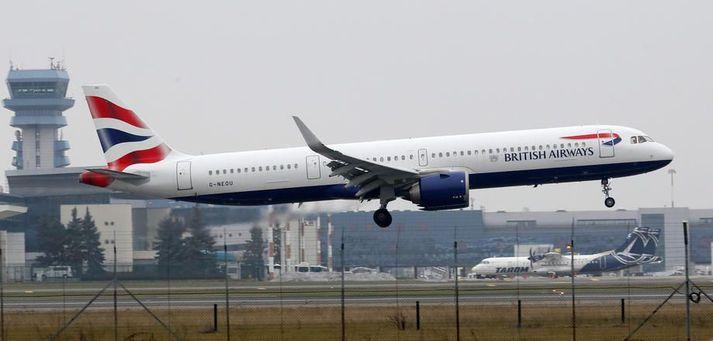 British Airways hefur sagt upp 10 þúsund starfsmönnum síðustu misseri.