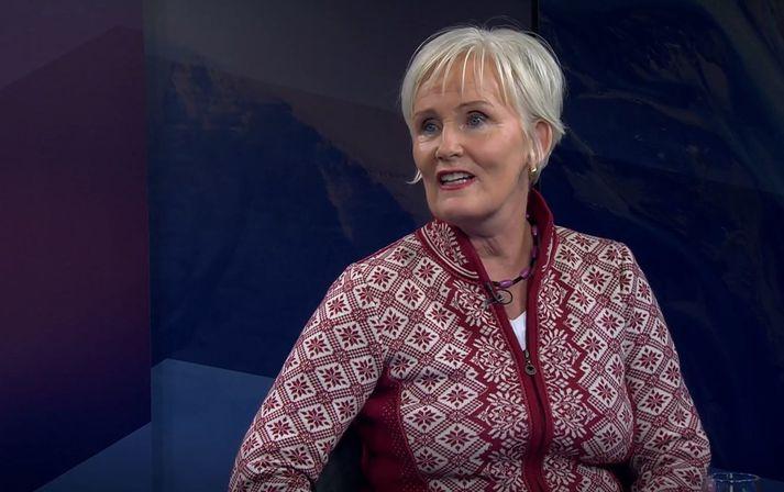 Stefanía Óskarsdóttir, dósent við stjórnmálafræðideild Háskóla Íslands.