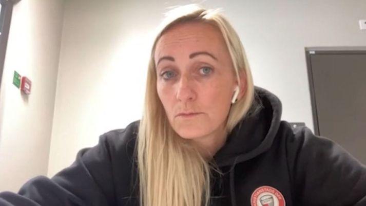 Elísabet Gunnarsóttir er þjálfari ársins 2020.