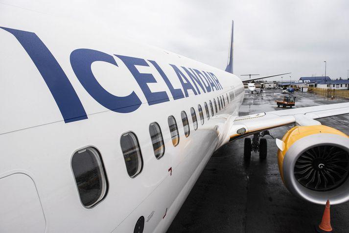 Boeing 737 Max 8 þota Icelandair.