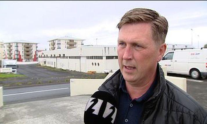 Jónas Kristinsson, framkvæmdastjóri KR.