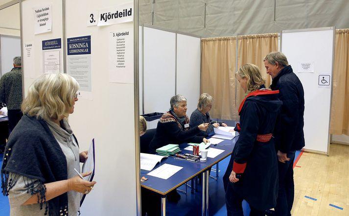 Frá þjóðaratkvæðagreiðslunni um breytingar á stjórnarskránni árið 2012.
