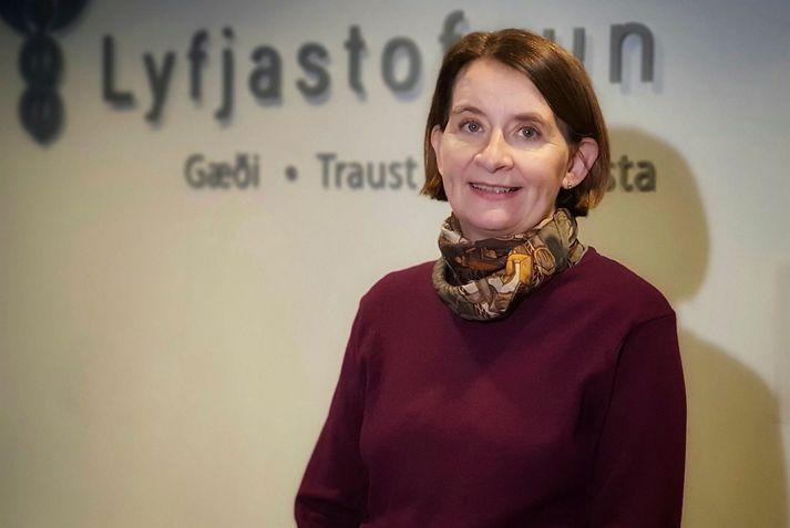 Rúna Hauksdóttir Hvannberg er forstjóri Lyfjastofnunar.