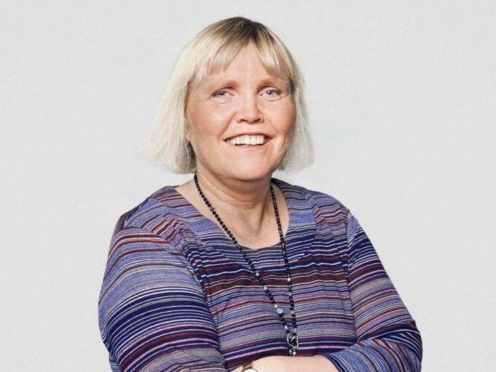 Vanda Sigurgeirsdóttir.