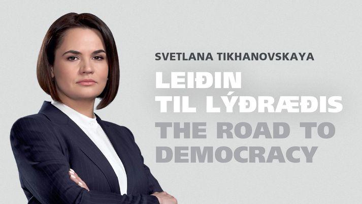 Svetlana ræðir leiðina til lýðræðis á fundinum í dag.