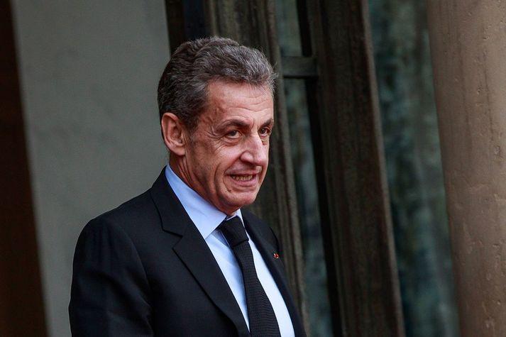 Nikolas Sarkozy, fyrrverandi forseti Frakklands.