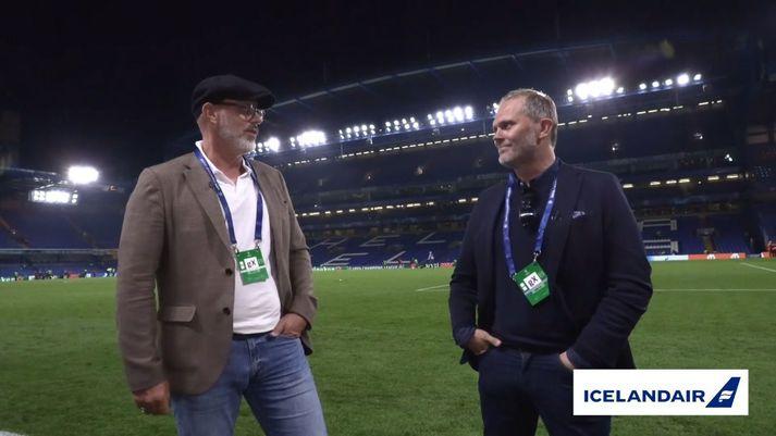 Guðmundur Benediktsson og Ólafur Krisjánsson fóru yfir allt það helsta úr leik Chelsea og Zenit á Stamford Bridge.