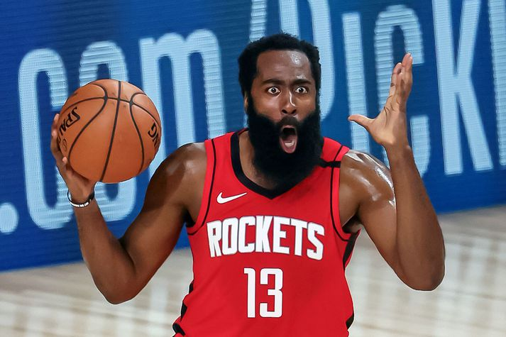 James Harden vill komast í burtu frá Houston Rockets.