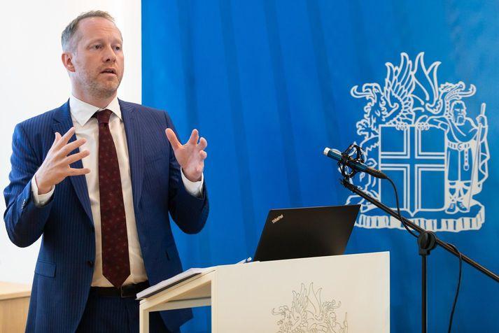 Guðmundur Ingi Guðbrandsson umhverifs- og auðlindaráðherra.