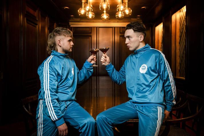 Klemens Hannigan og Matthías Tryggvi Haraldsson.