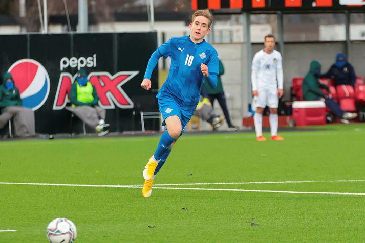 Ísak Bergmann Jóhannesson er leikmaður U21-landsliðs Íslands og lék sinn fyrsta A-landsleik í nóvember.