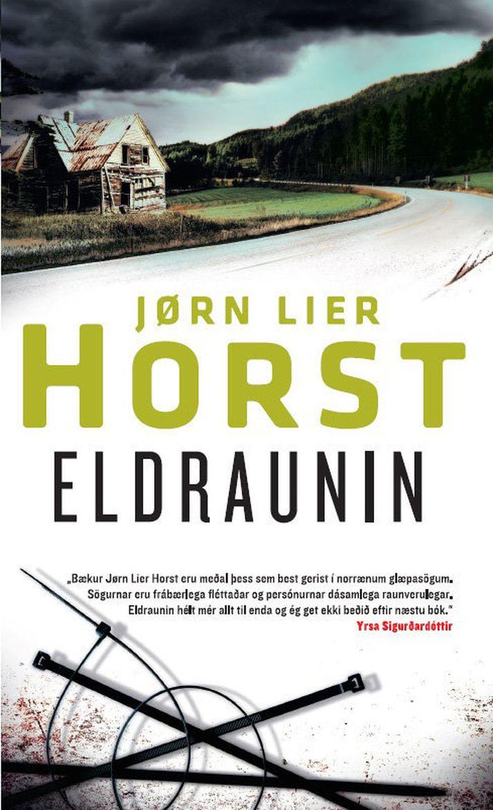 Nokkrar bækur Horst hafa komið út á íslensku og er Eldraunin sú nýjasta.