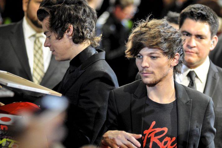 Harry Styles og Louis Tomlinson voru alltaf í miklu uppáhaldi hjá ungum aðdáendum sem skrifuðu aðdáendaskáldskap um hljómsveitina.