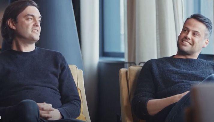 Marcos Zotes og Hrólfur Karl Cela, arkitektar hjá Basalt.
