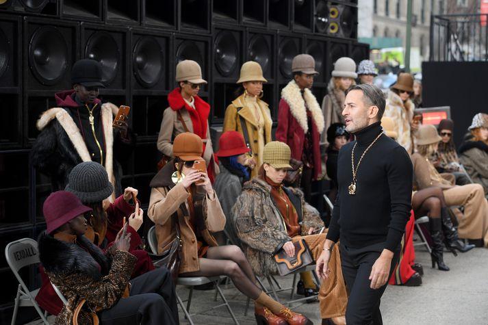 Frá sýningu Marc Jacobs í New York í Febrúar 2017