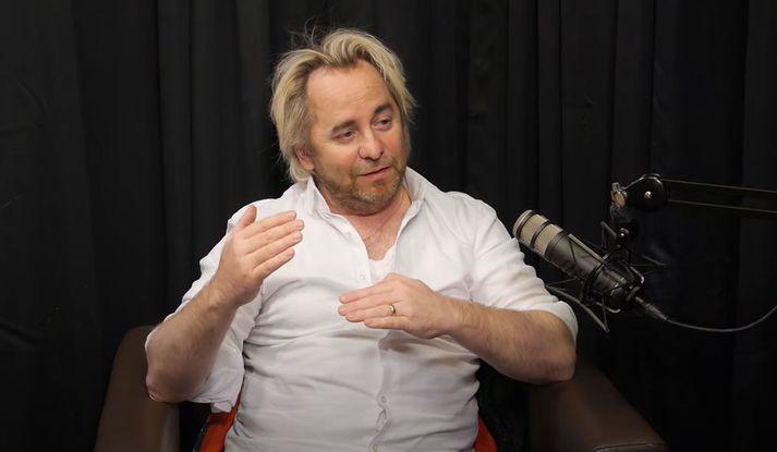 Geir Ólafs talar um kvíðann í samtali við Sölva Tryggvason.