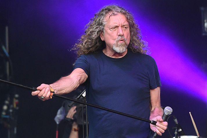 Robert Plant er söngvari Led Zeppelin.