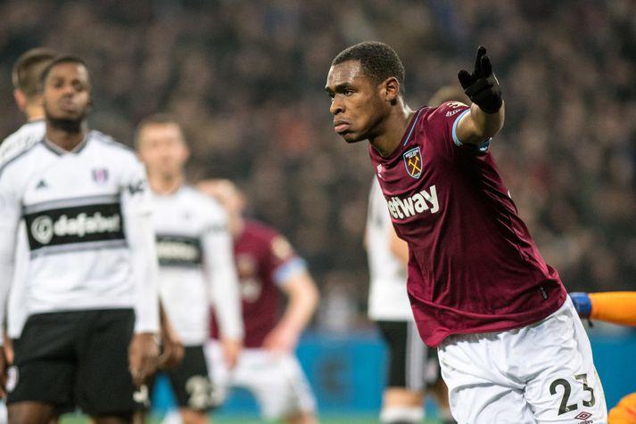 Diop spilaði 38 leiki fyrir West Ham á síðasta tímabili