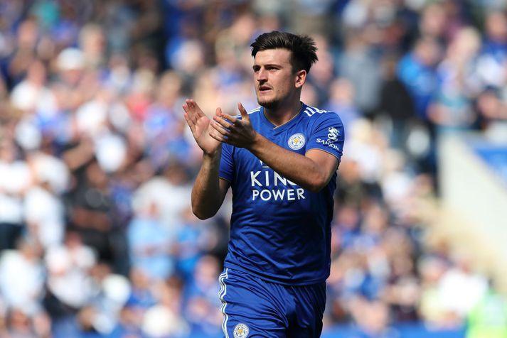Maguire ætlar ekkert að fara neitt frá Leicester