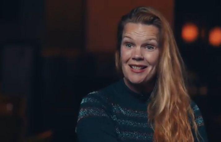 Annska Arndal íslenskukennari er á meðal þátttakanda. Hún vonar að fjölskyldan finni allavega tvær jurtamáltíðir sem allir kunna að meta.