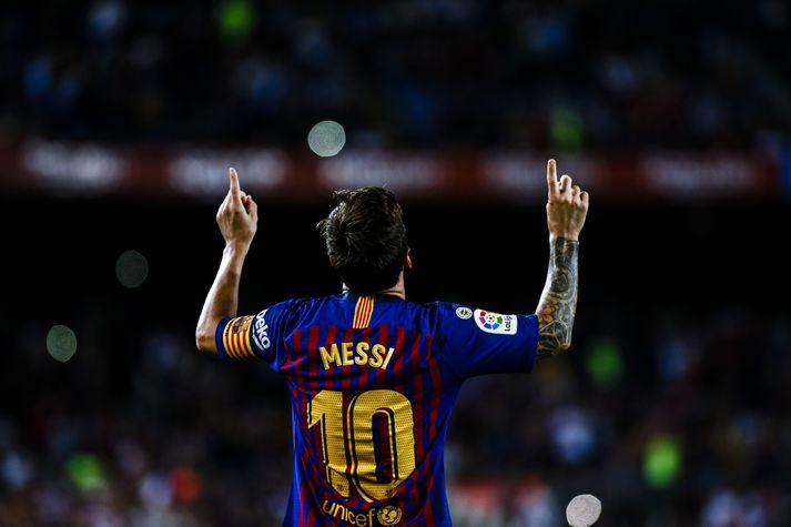 Messi fær að ráða því sjálfur hvort hann spili  með Barcelona í Bandaríkjunum