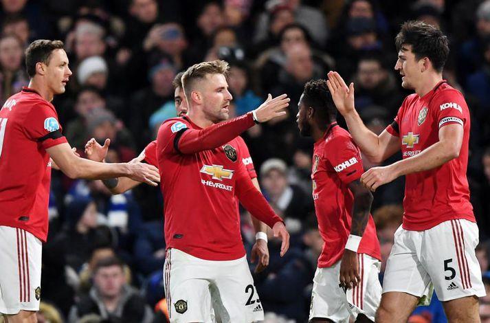 Leikmenn Manchester United eru væntanlega ekki á leiðinni í langt sumarfrí.