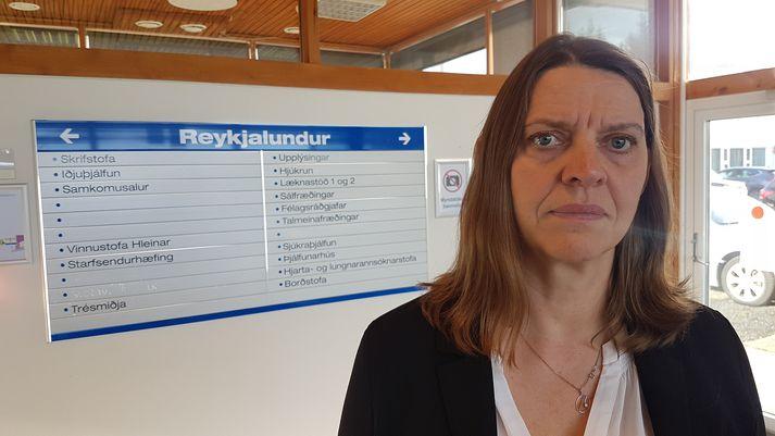 Magðalena Ásgeirsdóttir, læknir á Reykjalundi.