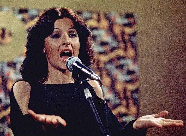 Maria Mendiola og Baccara keppti fyrir Lúxemborg í Eurovision árið 1978.