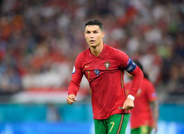 Ronaldo er að sjálfsögðu fremsti maður í liði mótsins til þessa.