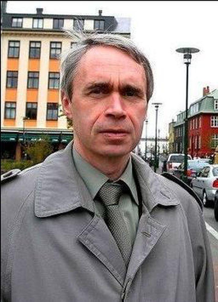 Þórólfur Gíslason, kaupfélagsstjóri Kaupfélags Skagfirðinga.