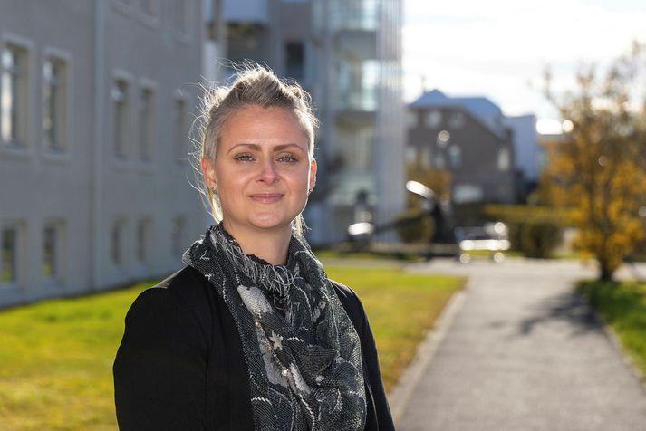 María Fjóla Harðardóttir forstjóri Hrafnistu.