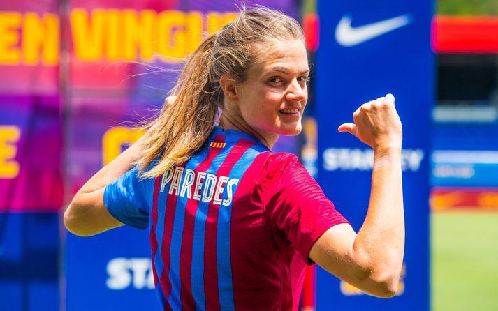 Irene Paredes, landsliðsfyrirliði Spánar, er gengin til liðs við Barcelona.