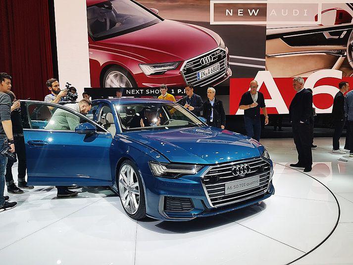 Audi A6 mun bjóðast með 201 hestafls og 2,0 lítra dísilvél og 3,0 lítra V6 dísilvél í bæði 228 og 286 hestafla útgáfum.