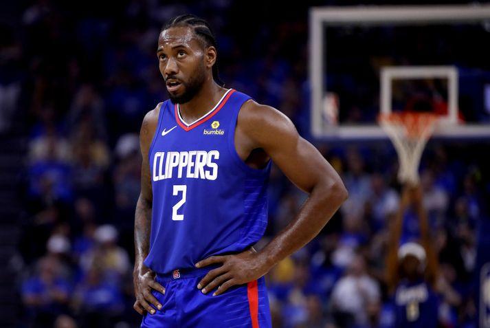 Los Angeles Clippers ætlar að passa upp á álagið á Kawhi Leonard í vetur.