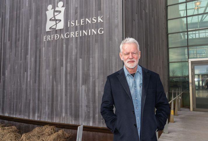 Kári Stefánsson, forstjóri Íslenskrar erfðagreiningar.