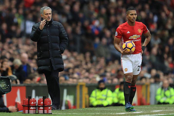José Mourinho gæti nú gert læti úr þessu.