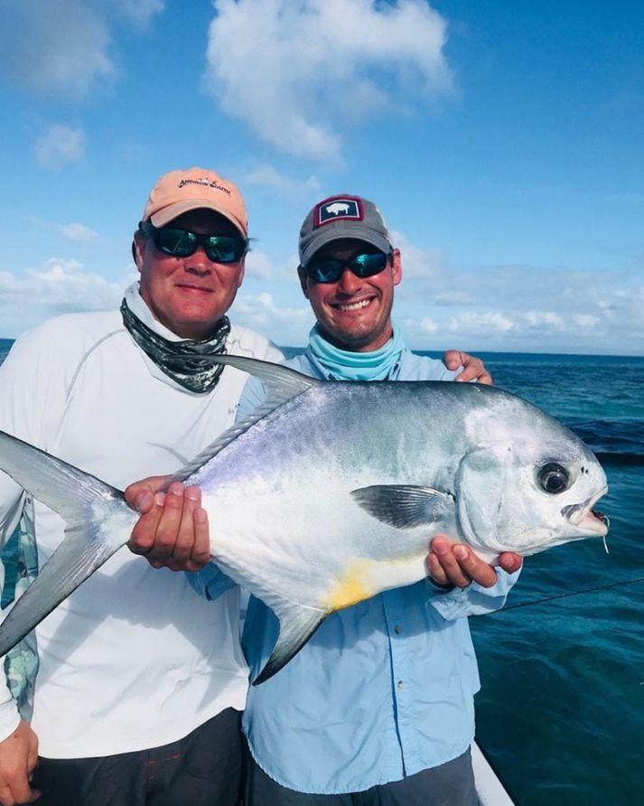 Það er glæisileg veiðiferð til Belize í verðlaun í plokki hjá Fish Parnter
