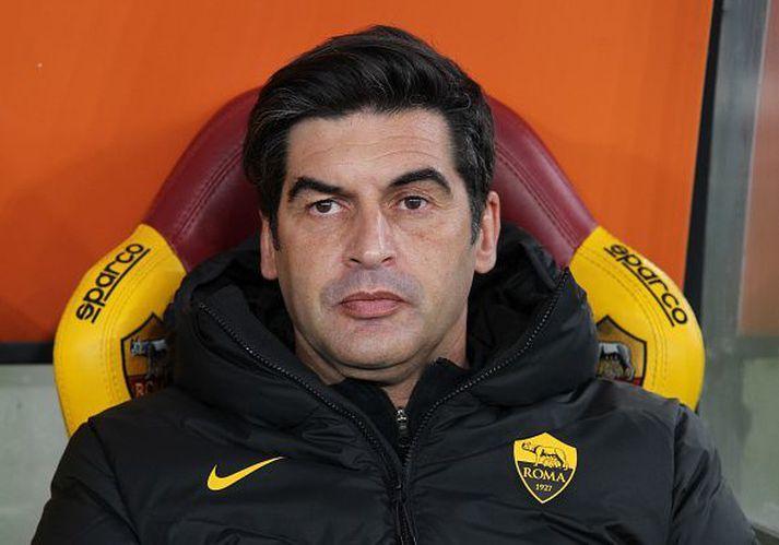 Paulo Fonseca er þjálfari Roma.