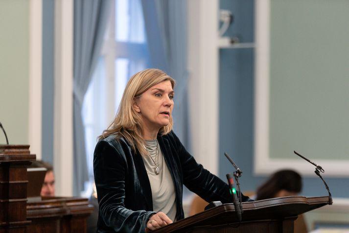 Hanna Katrín Friðriksson er þingmaður Viðreisnar.