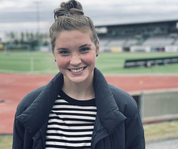 Karólína Lea Vilhjálmsdóttir segir það hafa verið mikinn skóla að spila með Bayern München seinni hluta tímabilsins.