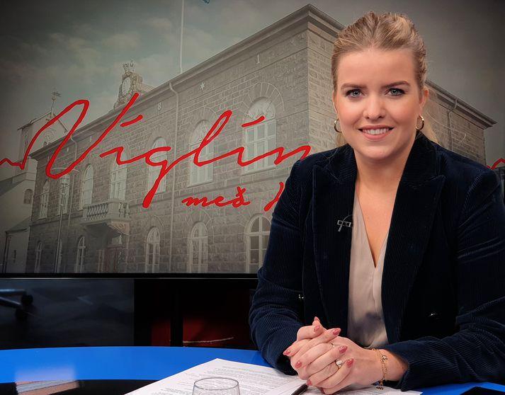 Áslaug talaði fyrir breyttri stefnu í fíkniefnamálum í Víglínunni í dag.