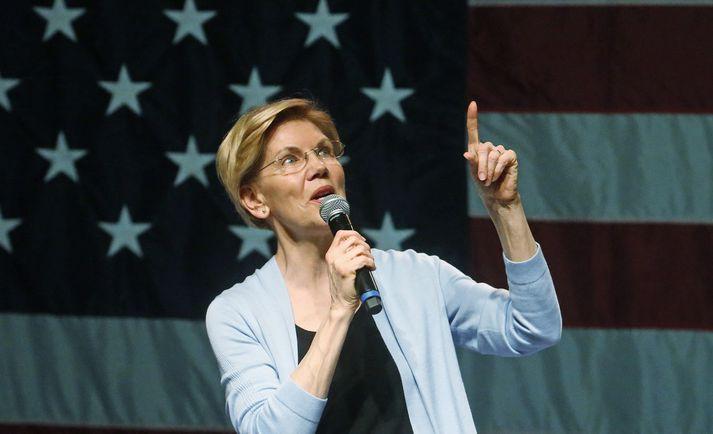 Elizabeth Warren, öldungadeildarþingkona sem boðið hefur sig fram í forvali Demókrataflokksins fyrir forsetakosningar í Bandaríkjunum á næsta ári.