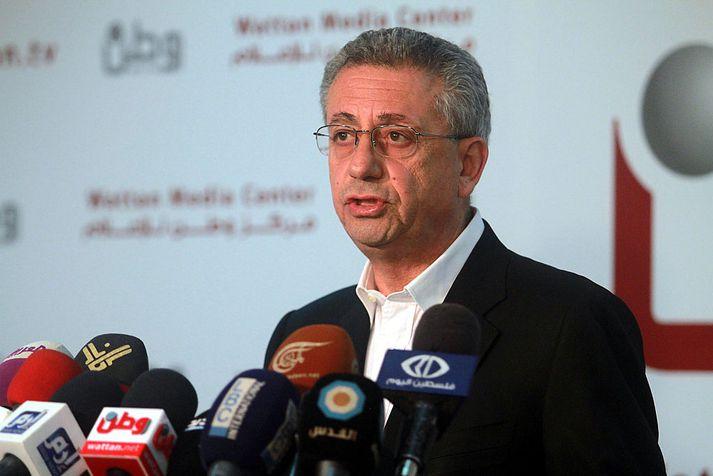 Mustafa Barghouti hefur rekið hjálparsamtök í Palestínu í áratugi.