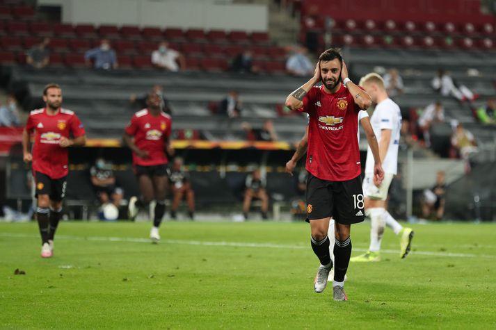 Mark Brunos Fernandes úr vítaspyrnu skildi Manchester United og FC Kobenhavn að.
