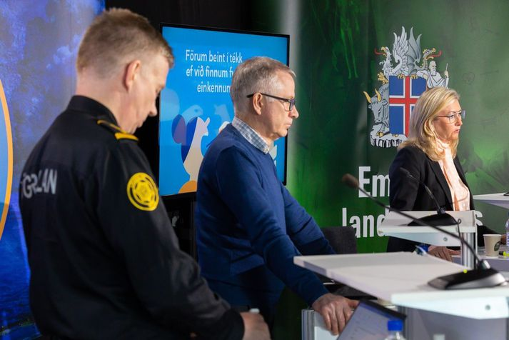 Víðir Reynisson, Þórólfur Guðnason og Alma Möller hafa verið reglulegir gestir á uppplýsingafundum almannavarna og landlæknis.